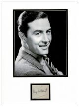 Ray Milland Autograph Signed